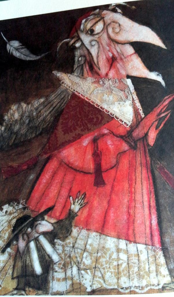 Tavola illustrata di Paolo Fresu  - La piuma