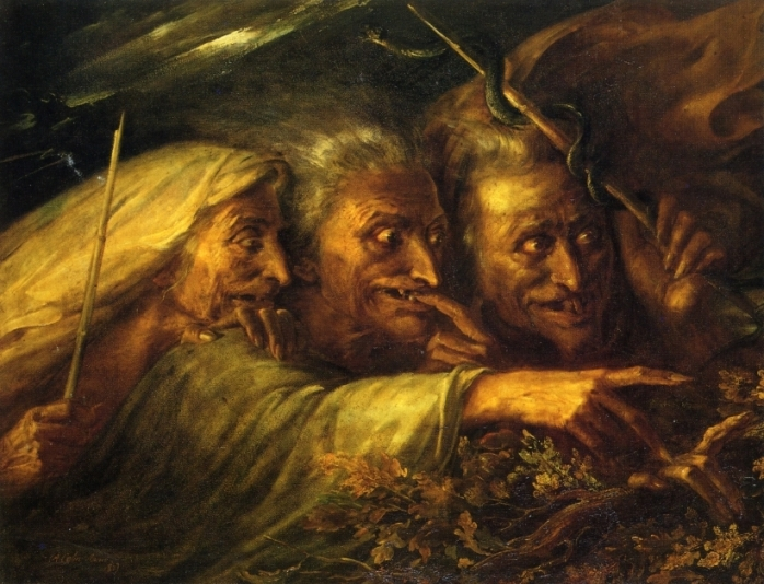 Alexandre-Marie-Colin-The-Three-Witches-from-Macbeth-1827