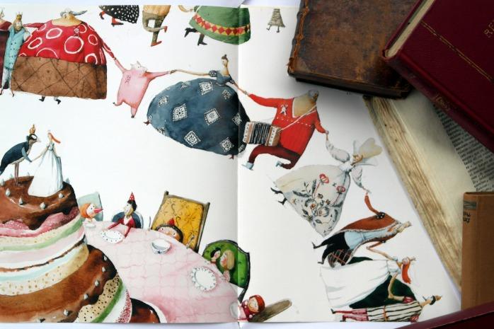 Konig Drosselbart - Illustrator Irina Dobrescu