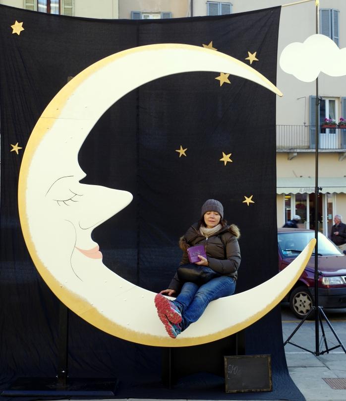 la luna che sorride