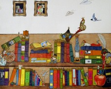 la nostra libreria viva - illustrator Kovacs